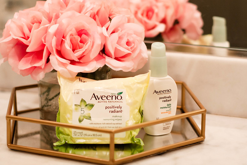 cute & little blog | aveeno positively radiant