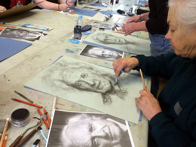 Pastel Portrait Workshop with Mike Lamble 4