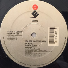LEADERS OF THE NEW SCHOOL:WHAT'S NEXT?(LABEL SIDE-A)
