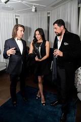 Samir Ceric, Rebecca Demlakian and guest