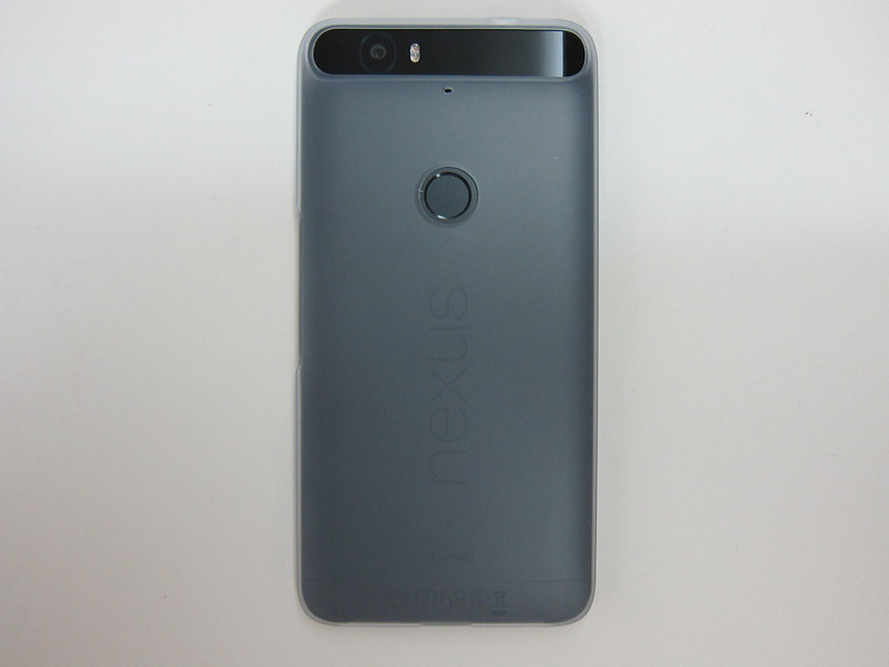 Nexus 6P with Huawei Free Nexus 6P Jelly Case - Back