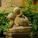 Rome : Children kiss / Lovers of the Falconieri Palace by Pantchoa