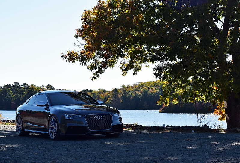 2013 Daytona Gray Audi RS5 Black, MMI, Bu0026O