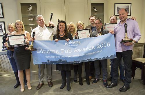 The 2015 Adnams Pub Awards