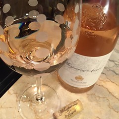 A lovely, light French rose'! #wine #igersmaine #winetime how's everyone?