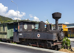 Old Train at Kichevo
