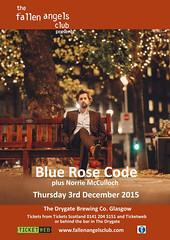 The Fallen Angels presents Blue Rosde Code on 3 December