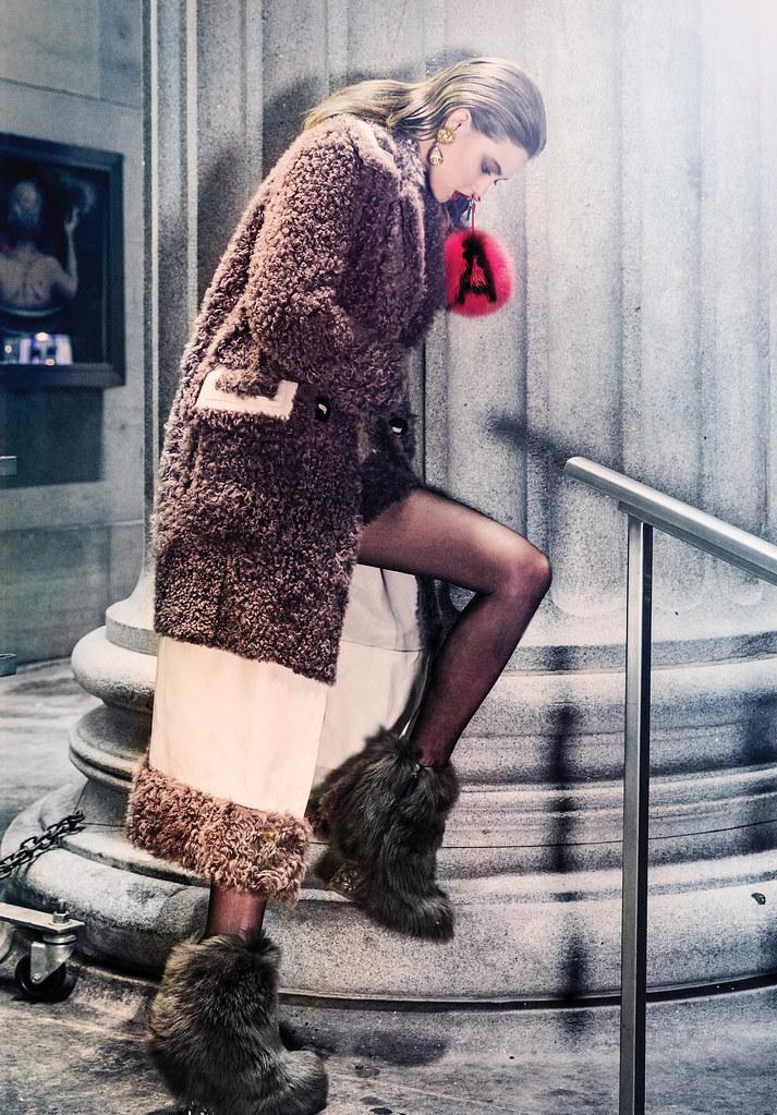 Линдси Виксон — Фотосессия для «Vogue» KR 2015 – 6