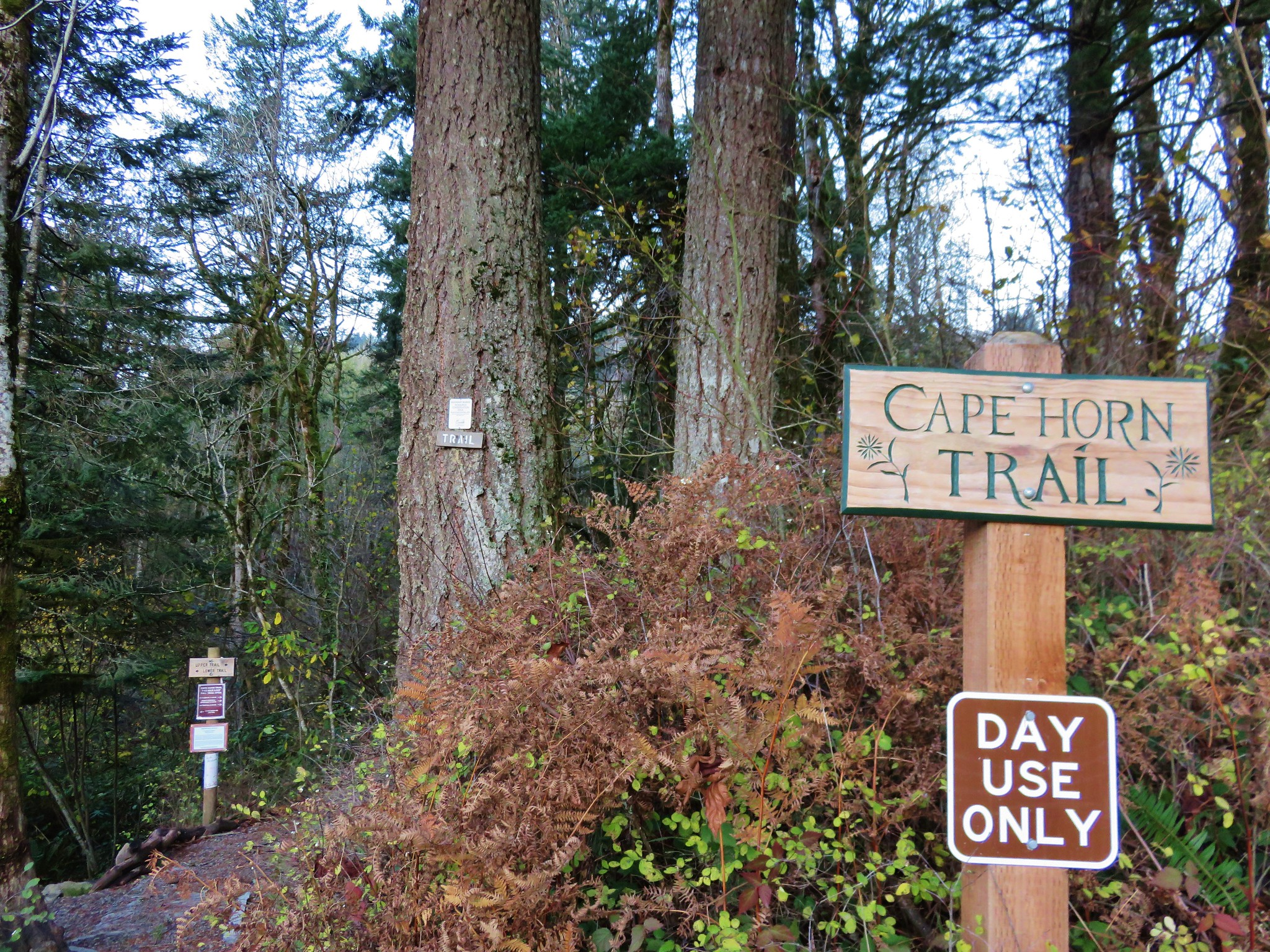 Cape Horn Trailhead