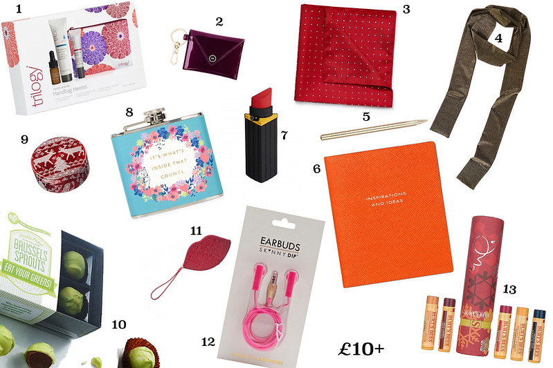 Sam Muses' 2015 Secret Santa and Stocking Filler Gift Guide - £10 and Over, Christmas, Beauty, Novelty, For Him, For Her, Luxury, Budget, Gift Ideas, Presents