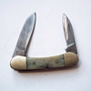 Frost Cutlery Canoe Folding Pocket Knife - Bone Handle - 2 Blades Solingen Steel