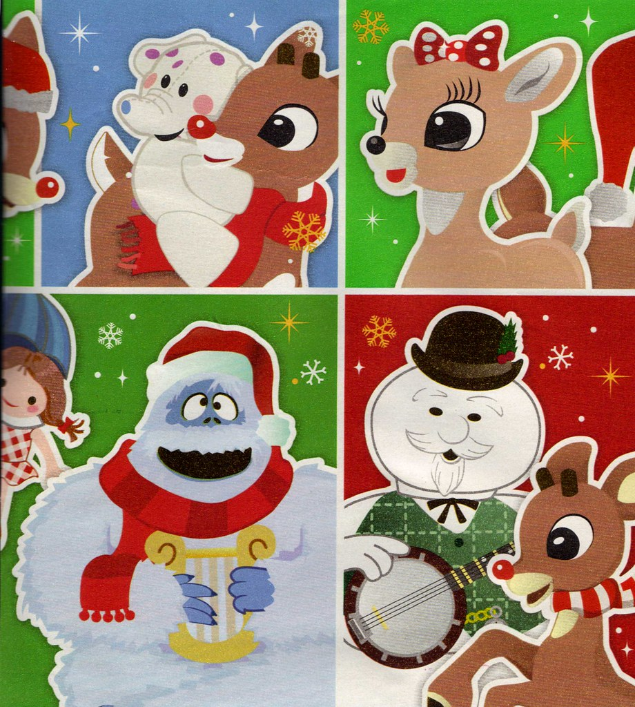 Rudolph the Red Nosed Reindeer friends, Abominable Snowman, Sam the ...