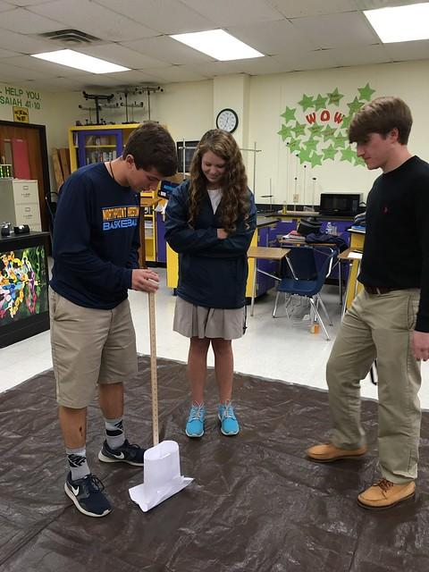 Physics Design Challenge: Egg Drop Landing Pad