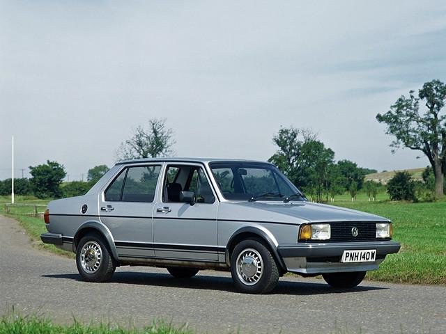 Volkswagen Jetta для рынка Великобритании. 1979 – 1984 годы