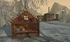 HEY! HOT CHOCOLATE! {what next} Holiday Red Hot Chocolate Machine RARE  COPY / The Secret Store - Christmas Market Booth