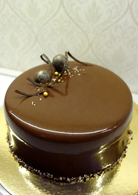 Chocolate & Cherry entremet