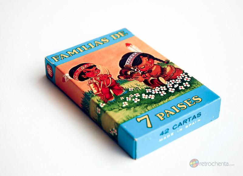 Baraja Familias de los 7 Países - tercera edición - delantera