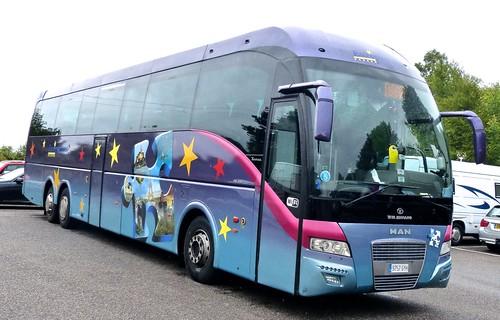 9757 GYH 'autocareras cristobal' MAN  26.480 / TATA HISPANO Xerus on 'Dennis Basford's railsroadsrunways.blogspot.co.uk'