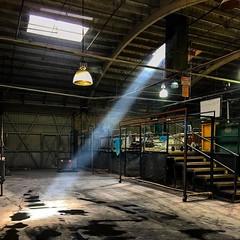 #superfiltered #texturestudy light through acid vapor. #exfoliating