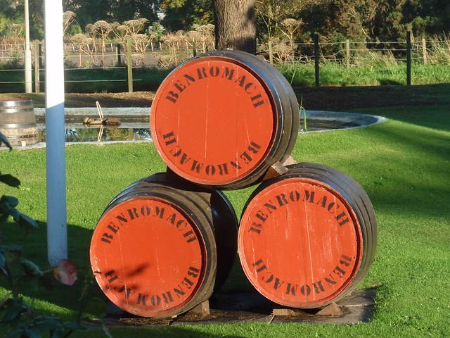 Benromach distillery 2011