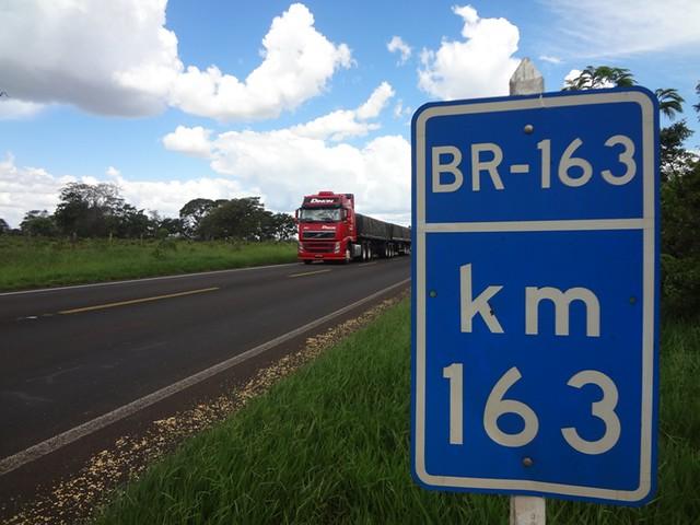 Sai o edital de estudo para concessão da BR 163 entre Campo Novo e Santarém