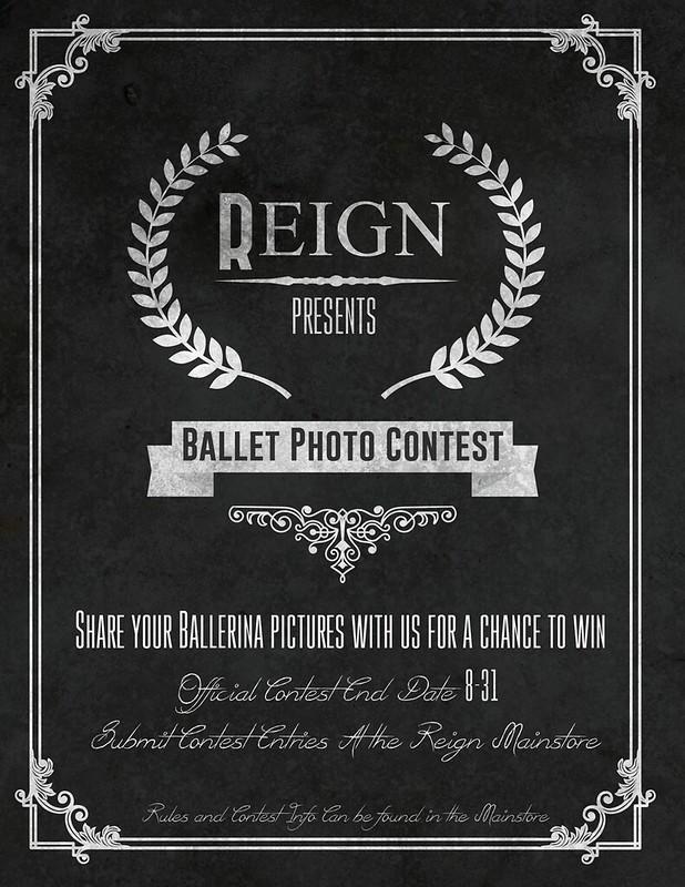 REIGN.- BALLERINA PHOTO CONTEST