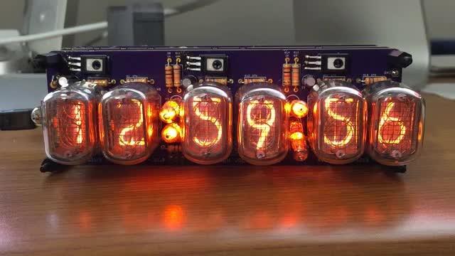 Nixie Clock - Chime