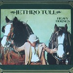 "JETHRO TULL HEAVY HORSES LYRICS SHEET 12"" LP"