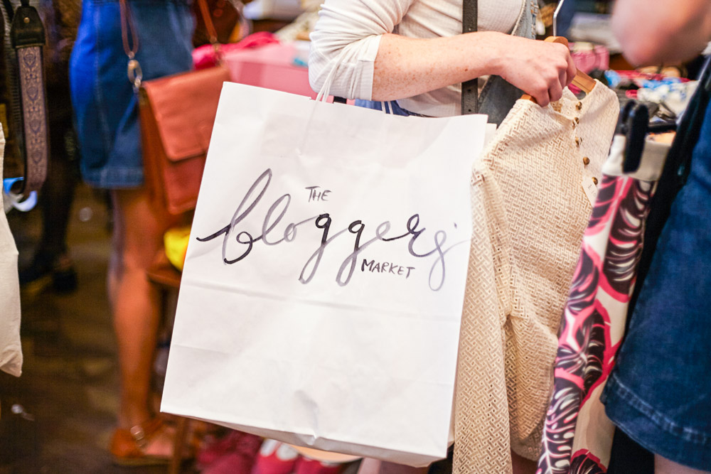 the bloggers market 2015 hand painted bags