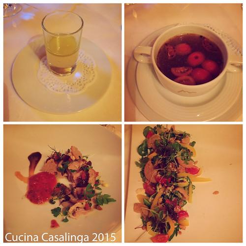 Goldener Berg erstes Abendessen Teil 2