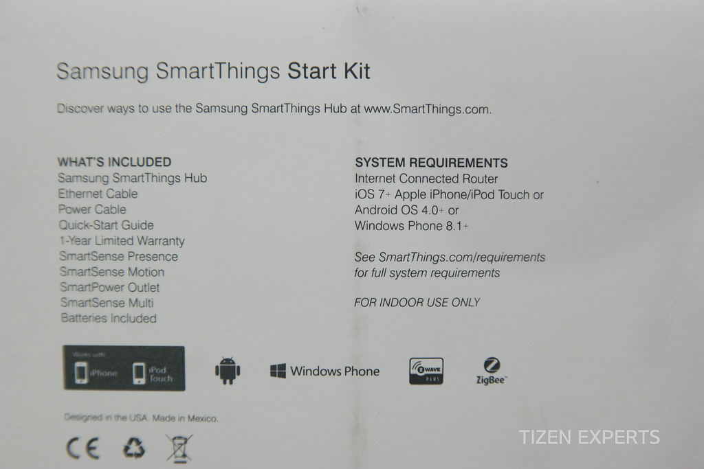Video Samsung Smartthings Starter Kit Lands At Tizen