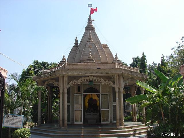 Shri Gauri Shankar Mandir with Shivling and Shri Ganesh and all Gan in Bhagwat Dham campus