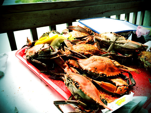 Crabs at Bubba's (September 13 2014)