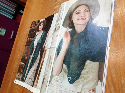 Galax in Interweave Knits Gifts 2015 issue
