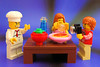 LEGO Chef: No food selfies at my place please!