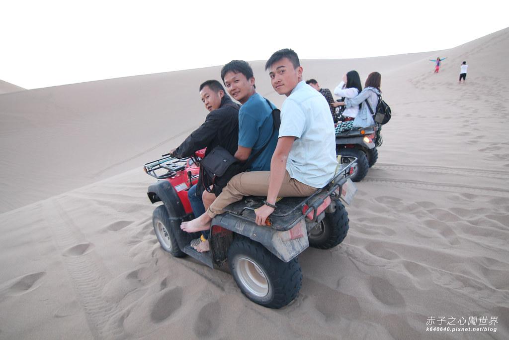 絲路-敦煌鳴沙山月牙泉-沙漠露營14