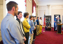 Mountaineers Team Visits Capitol Hill (NHQ201509210004)
