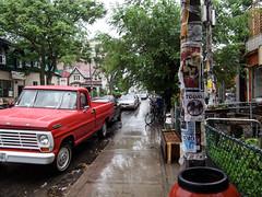 Rainy Kensington market
