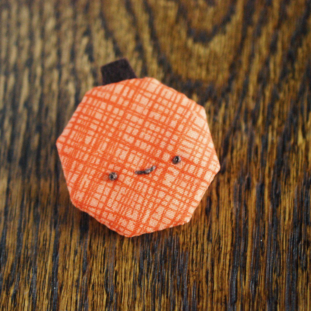 EPP Octagon Pumpkin Pin