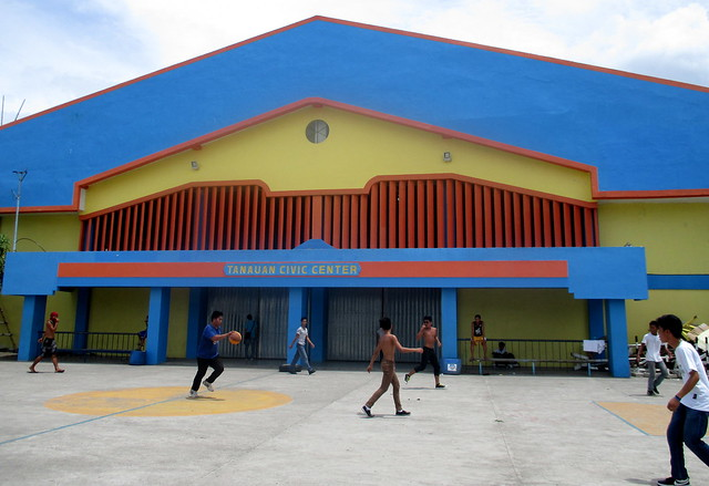 The newly-rehabilitated Tanauan Civic Center - July 2015