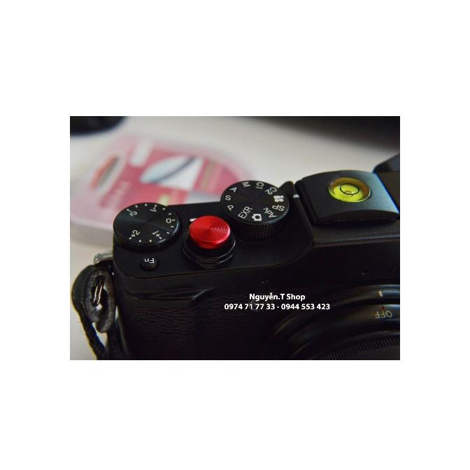 Nút bấm nhôm shutter button cho Fujifilm, Leica, máy phim