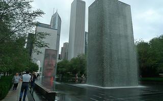 Chicago - Millenium Park Crown Fountain