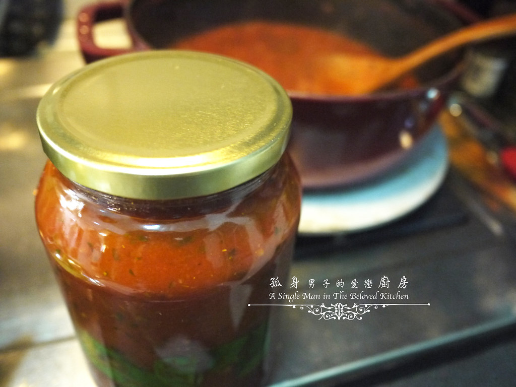 孤身廚房-義大利茄汁紅醬罐頭--自己的紅醬罐頭自己做。不求人26