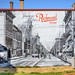 Mural at Mini-Park in Downtown Richmond, Indiana