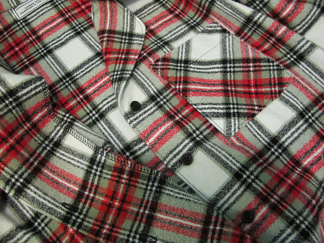 Flannel Carolyn PJs - flat