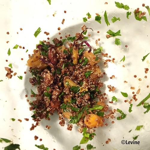 Marokkaanse salade met wortel en quinoa