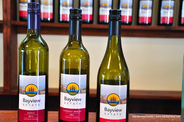 Wine Tasting Bayview Estate