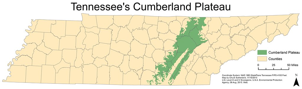 Cumberland Plateau, Tennessee