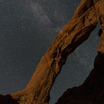 South Window Arch and Milkyway