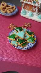 Dollhouse Miniature Christmas Cookies